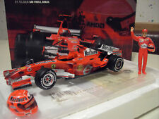 2006 Ferrari F248 #05 Michael Schumacher Winner GP Brasil 1 18 Hot Wheels J2996
