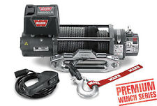 Warn 8,000 lb Jeep, Truck & SUV Premium Series M8000-S Winch 12V Synthetic Rope