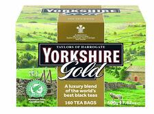 Taylors of Harrogate Yorkshire Gold Tea 160-Count Tea Bags