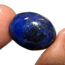 21.20Ct. Awesome Natural Oval Cabochon Gold Flakes Lapis Lazuli Gemstone-CH 6892