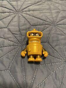 Kidrobot Chase Gold Bender Futurama Rare