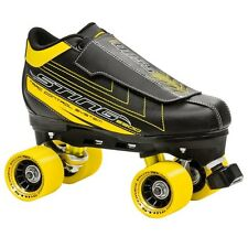 Roller Derby STING 5500 MENS QUAD SKATE Size 10 Black/Yellow NEW