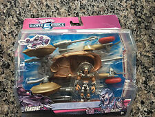 "Hot Wheels Battle Force 5 - 7"" Fangore with 3"" Kalus"