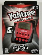 Hasbro Yahtzee Hand Held Electronic Dice Game 2012 NEW in Box Travel Sealed Gift