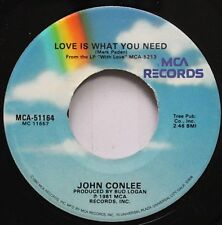 Country 45 John Conlee - Love Is What You Need / Miss Emily'S Picture On Mca Rec