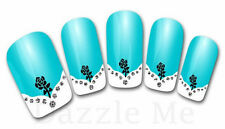 3D Nail Art Sticker Decals Transfer Stickers French Tip Design (3D813)