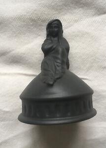 Wedgwood Black Basalt Sibyal Figurine With Original Box