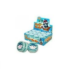 Pirate wooden yoyo great for party bags stocking filler pocket money toys