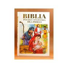 Biblia DLA Dzieci A4 ZIELONA Sowa Polska Ksiazka @playmedia