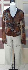 Set abbinabile OLTRE maglia donna + ZUMA pantaloni tg S (misure descrizione)