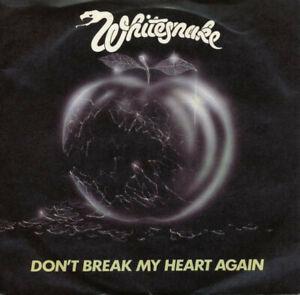 """WHITESNAKE - DON'T BREAK MY HEART - 1981 PIC COVER - 7"""" SINGLE - FREE UK POST"""