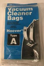 Hoover Vacuum Cleaner Bags Type A 3 Pack New Sealed