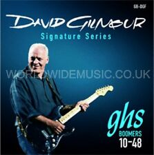 GHS GBDGF Boomers Dave Gilmour Signature Electric Guitar Strings .010 - .048