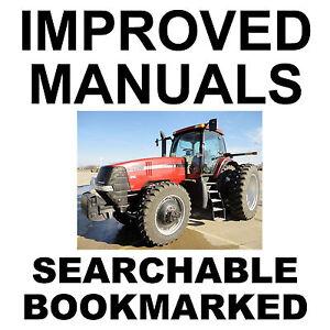 Case Magnum MX210 MX230 MX255 MX285 Tractors MX 210 230 255 285 Service Manual