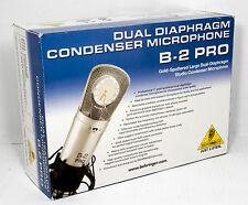 BEHRINGER B-2 PRO DUALDIAPHRAGM CONDENSER MICROPHONE
