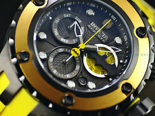 Invicta Mens 52mm SAS DC Comics BATMAN Ltd Ed. Swiss Chrono Black IP 500M Watch