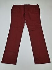 City Streets Junior Womens Size 19 Laredo Red Stretch Jeans New