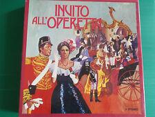 INVITO ALL'OPERETTA BOX 9 LP EDDA VINCENZI FRANCO ARTIOLI ELVIO CALDERONI LOOK