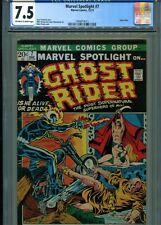 Marvel Spotlight #7 Ghost Rider CGC 7.5 3rd app Ghost Rider Marvel (1972)