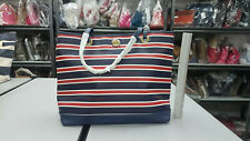Tommy Hilfiger 6927870 467 Striped Tote Bag Navy White Red
