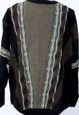 Sweaters - Crew Neck - Fancy - MultiColored - Protege #B - USA -2X-BIG