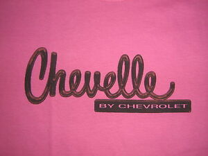 CHEVELLE T-SHIRT-HOT PINK for LADIES-WOMEN-CHEVY - Md or Lg
