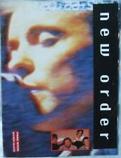New Order – Biography/Discography; Jon Wilde (Melody Maker 1989) plus Poster
