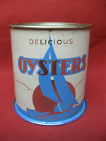 Vintage Harding Seafood Co Va 270 Coles Pt  Va Oyster Can #1