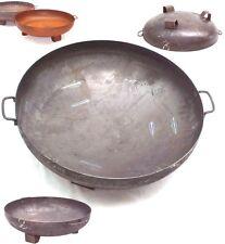 44407 Feuerschale 800mm 80cm Feuerkorb Pflanzschale Grillboden Grillschale Grill