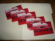 "1960'-70s Capri ""The Sexy European"" Announcement Post Card Factory - Five"