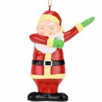 Tree Buddees Funny Dabbing Santa Claus Dancing Christmas Ornament Xmas Ornaments