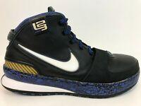 RARE Nike Zoom Lebron 6 Graffiti Royal 2008 Size 10.5 M Mens 346526-011