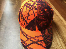 Mossy Oak Camo Blaze Orange Cap - Hunting