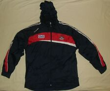 Cork GAA (Corcaigh) / O'NEILLS - MENS zip-up rain (Storm) Coat / Jacket. Size: L