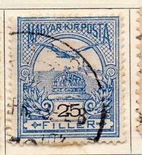 Hungría 1900 antiguo problema Fine Used 25f. 104370