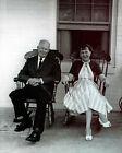 Ike and Mamie Eisenhower, 8x10 Black and White Photo