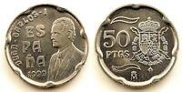 Spain-Juan carlos I. 50 Pesetas. 1999. Madrid. SC/UNC. Niquel 5,6 g.