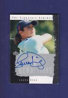 Laura Diaz 2003 Signature Exhibit Upper Deck Golf (NMT)