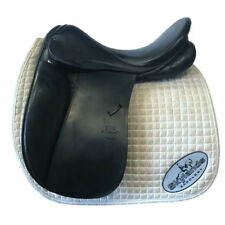 "Used Stubben Genesis D Dressage Saddle  - Size 18.5"" - Black"