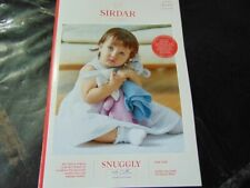 Sirdar Snuggly 100 Cotton Double Knitting Pattern 5273 Comforter Blankets