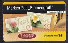 Gestempelte Briefmarken aus Deutschland (ab 1945) mit Blumen-Motiv als Satz