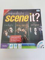 The Twilight Saga Scene It DVD Board Game Deluxe Edition BRAND NEW SEALED