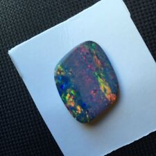 100% Natural Australia Doublet Opal Loose stones With Plenty Colors 180306#2