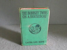 THE BOBBSEY TWINS ON A HOUSEBOAT Laura Lee Hope Children's Series American