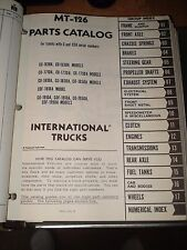 INTERNATIONAL CARGOSTAR TRUCK PARTS CATALOG MT126 NUMBERS BOOK  IH CO1610-CO1950
