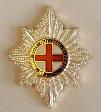 Coldstream Guards Garter Star design lapel pin