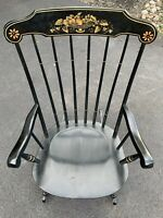 Bent & Brothers Vintage Hand Crafted Solid Wood Colonial Child Rocking Chair