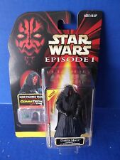 Star WarsEpisode 1, Darth Maul(Tatooine)with Cloak and Lightsaber-ConnTech Chip
