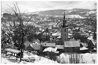 AK, Zella-Mehlis, Blick vom Lärchenberg auf Zella, Winteransicht, 1965