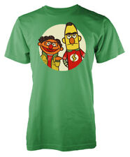 big bang theory sesame street mashup inspired adult tshirt